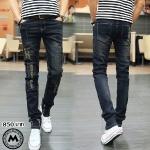 กางเกงยีนส์ไต้หวัน P004 รุ่น Slim กระบอกเล็ก <สินค้าไต้หวันนำเข้า>