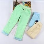 Pre-order กางเกง / แพ็คละ 5 ตัว / สีเขียว