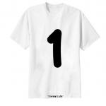 เสื้อยืด ตัวอักษร 1