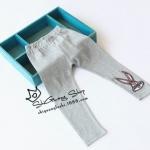 Pre-order กางเกงเลคกิ่ง / แพ็คละ 5 ตัว /สีเทา