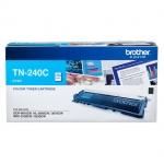 Brother TN-240C ตลับหมึกแท้ สีฟ้า ราคา 2050 บาท