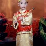 Pre-order ชุดอาเซียน / Size 130 / สีทอง
