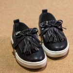 Pre-order รองเท้า / แพ็คละ 4 คู่ /Size31-34/ สีดำ