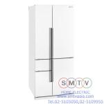 MITSUBISHI ตู้เย็น 5 ประตู 21.8 คิว รุ่น MR-Z65R-W-T ระบบ No Frost