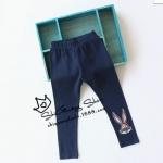Pre-order กางเกงเลคกิ่ง / แพ็คละ 5 ตัว /สีน้ำเงิน