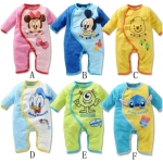 Pre-order ชุดเด็กเล็ก /แพ็คละ 18 ชุด /คละสี(สินค้าลิขสิทธิ์)