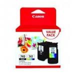 ตลับหมึกแท้ Canon 740+741 แพ็คคู่ PG+CL ราคา 1,150 บาท
