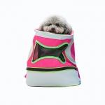 กระเป๋าใส่สุนัข-แมว เป้สะพายหลังสีชมพู