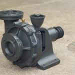 ปั๊มแรงดังสูงเพชรรวงข้าว Hight Pressuer Centrifugal Pump Model Mu-250L