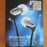 ขาย หูฟัง Ultimate Ears 500 สีDark Silver สวยงาม สายแบน แฟชั่น มาครบกล่อง และ อุปกรณ์ครบครัน ในราคาเบาๆ