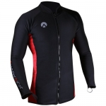 Sharkskin Mens Chillproof Long Sleeve Rashguard with Full Zipper