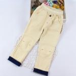 Pre-order กางเกง / แพ็คละ 5 ตัว / สีเหลือง