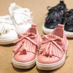 Pre-order รองเท้า / แพ็คละ 5 คู่ /Size21-25/ สีชมพู