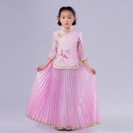 Pre-order ชุดอาเซียน / Size 130 / สีชมพู
