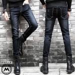 กางเกงยีนส์ไต้หวัน P006 รุ่น Slim กระบอกเล็ก <สินค้านำเข้า>