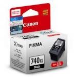 ตลับหมึกแท้ Canon 740XL สีดำ Black ราคา 800 บาท