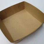 ถาดอาหาร ฟู้ดเกรท 6นิ้ว x 6 นิ้ว x 2นิ้ว (Food grade tray) แพค 100ใบ