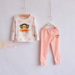 Pre-order เซทเสื้อ+กางเกง / แพ็คละ 5 ชุด /สีชมพู(สินค้าลิขสิทธิ์)