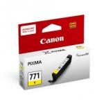 ตลับหมึกแท้ Canon 771 Y สีเหลือง ราคา 530 บาท