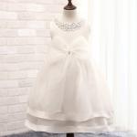 Pre-order ชุดราตรี / Size 110 / White
