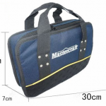 P04 กระเป๋าใส่เครื่องมือช่าง Master Carft รุ่นผ้าหนาพร้อมช่องอเนกประสงค์ ขนาด 30*20*7 CM