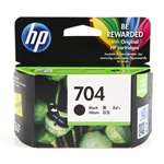 ตลับหมึก HP704 Black หมึกดำ ราคา 340 บาท