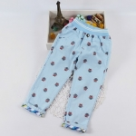 Pre-order กางเกง / แพ็คละ 5 ตัว / สีฟ้า