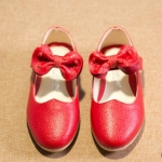 Pre-order รองเท้า / แพ็คละ 5 คู่ / สีแดง