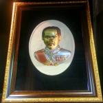 พระมองตาม ศิลปะหินทราย King 5.พระหันหน้าได้ ทรายสีขาว ขนาด Size 21x27x5 cm. Price ราคา 1,600 บาท.