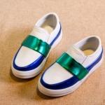 Pre-order รองเท้า / แพ็คละ 5 คู่ /Size26-30 / สีขาว