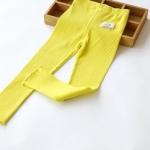 Pre-order กางเกงเลคกิ่ง / แพ็คละ 5 ตัว /สีเหลือง