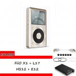 ขาย FiiO X1 + L17 + HS12 + E12 ชุด Combo Set ที่ดีที่สุดสำหรับการฟังเพลงของคุณ