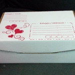 กล่องไดคัท ขนาด ข. สไตล์ Kawaii รูปหัวใจ