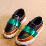 Pre-order รองเท้า / แพ็คละ 5 คู่ /Size26-30/ สีดำ