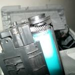 รีวิว ซ่อมปริ้นเตอร์ laser ปริ๊นแล้วหมึกเลอะกระดาษ