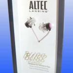 ขาย หูฟัง Altec Lansing Bliss Platinum หูฟังแฟชั่นสีชมพูสดใสสุดจิ้ด เหมาะสำหรับสาวๆ ขนาดเล็ก ใส่สบาย สายผ้า