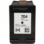 ตลับหมึกดำ HP 704 Black (มือ2) พร้อมใช้