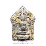 พระขุนแผนผงพรายกุมาร(กรรมการ) รุ่นแรก พิมพ์ใหญ่อุ้มบาตร เนื้อลายพญาเสือโคร่ง ตะกรุดเงิน 3 ดอก หลวงพ่อเที่ยง วัดพระพุทธบาทเขากระโดง จ.บุรีรัมย์ ปี2558