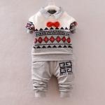 Pre-order ชุดเสื้อ+กางเกง / แพ็คละ 4 ตัว / Size S M L XL /สีเทา