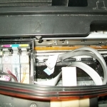 รีวิว ซ่อมปริ้นเตอร์อาการเปิดเครื่องปรินเตอร์แล้วหัวพิมพ์วิ่งชนด้านข้างอย่างแรง