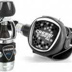 Cressi MC9-sc compact pro regulator set + oct compact pro + pressure guage