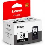 Canon 88 black สีดำ ตลับหมึกแท้ แคนนอน 88bk ราคา 420 บาท ฟรีส่ง