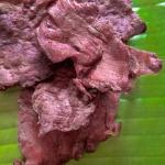 จิ๊นแห้งเนื้อล้วนพรีเมียม (เนื้อควาย)
