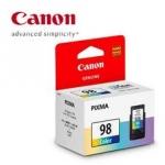 Canon 98 Color หมึกสี-ปริ้นเตอร์ แคนนอน E510 ราคา 499 บาท ฟรีส่ง