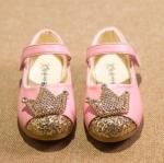 Pre-order รองเท้า / แพ็คละ 5 คู่/ Size21-25 / สีชมพู