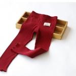 Pre-order กางเกงเลคกิ่ง / แพ็คละ 5 ตัว /สีแดง