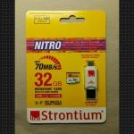 SD card 32GB Strontium 466X Class10 u1 ของแรงอัด vdo fullHD ไม่กระตุก