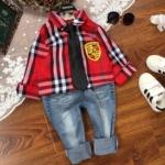 Pre-order เสื้อแขนยาว / แพ็คละ 5 ตัว / สีแดง