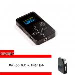 ขาย xDuoo X2 + FiiO E6 ชุด Combo Set ที่ดีที่สุดสำหรับการฟังเพลงของคุณ
