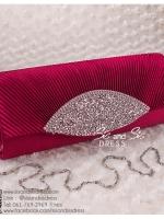 bs0007 กระเป๋าคลัช สีไวน์แดง กระเป๋าออกงานพร้อมส่ง ราคาถูกกว่าเช่า แบบสวยๆ ดูดีเหมือนดาราใช้